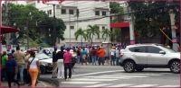 7dias: Turberos llevados apoyar Leonel golpearon a un grupo de mujeres; robaron cámaras