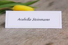 Tischkarten für Hochzeit, Geburtstag, Taufe, Kommunion, Konfirmation unter www.hanra.de Kalligrafie: Joachim Propfe