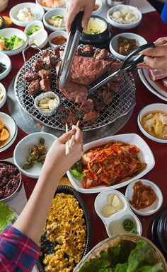 Learn the art of Korean barbecue at Mapo in Queens.