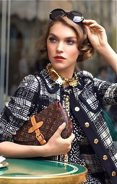 Louis Vuitton...I so love everything about this outfit!