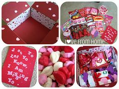 L♥ve From Home: Care Package #8: Valentine's Day! Great website with tons of care package ideas!