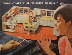 1940s housewives | 1940s and 50s photo illustrations and traditional illustrations of The ...