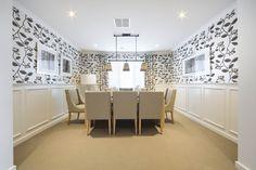 Stamford - Simonds Homes Decor, Beautiful Space, Furniture, Room, Simonds Homes, Dining, Home Decor, Room Divider, Interior Design