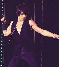 Kim Jaejoong (mirotic era) This man pushes all the right buttons for me.