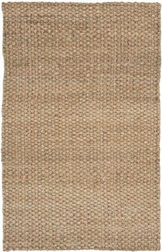 Think coastal living and casual beach house style with rugs so classic they'll even work in the city. Safavieh's natural fiber rugs are soft underf. Apartment 9, 4x6 Rugs, Natural Fiber Rugs, Sisal, Coastal Living, Biodegradable Products, Hand Weaving, Area Rugs, House Styles