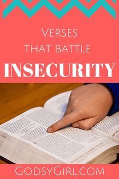 Why be an insecure Christian? - scriptures about confidence
