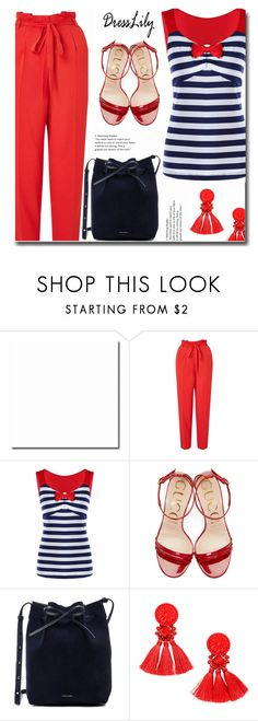 """Combo for you"" by soks ❤ liked on Polyvore featuring Miss Selfridge, Gucci and Mansur Gavriel"