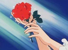 Aesthetic Header, Aesthetic Gif, Retro Aesthetic, Old Anime, Manga Anime, Anime Art, Theme Animation, Phineas Et Ferb, Lady Oscar