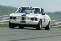 Yenko 'Stinger' Corvair on the track.