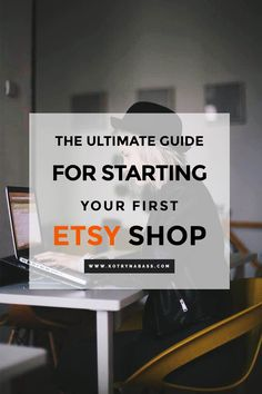 I opened my Etsy Shop in 2013 and made over 3000 sales since then and now I'm going to share some of the most important things you should consider when starting your first shop.