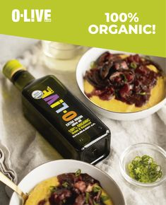 From certified organic olives, grown without the use of synthetic pesticides. Its maximum acidity of only 0.2% represents a fast process of just a few hours, using only certified organic, healthy and selected olives.🌱🌱🌱🌱✨✨✨✨✨✨. #health #oliveoil #organic #natural #tasty #olioextravergineolive #oliveandco Green Tomatoes, Organic Oil, Olives, Olive Oil, The 100, Tasty, Baking, Natural, Healthy