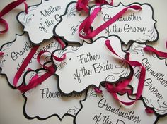 Wedding Chair Signs-Reserved Signs