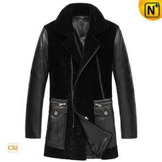 Leather Sheepskin Shearling Coats Men CW877025 $1985.89 - www.cwmalls.com