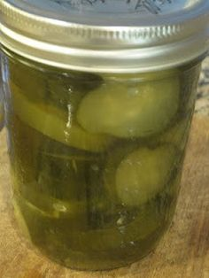 "Sweet Pickles. I have been canning sweet pickles for about 5 years now. I use my Nanny's ""14 day Sweet Pickle Recipe."" Needless to say I haven't produced any pickles as good as Nanny's, but mine are pretty tasty!"