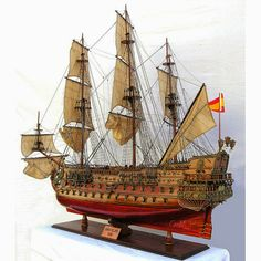 Decorating With Historic Model Ships