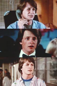 Michael J. Fox | High School USA | 1983