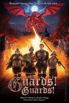 Terry Pratchett's Guards! Guards! by thedarkcloak.deviantart.com on @deviantART