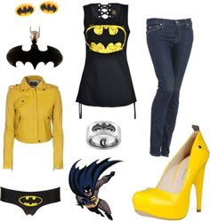 """Batman!"" by nyx7645 ❤ liked on Polyvore"