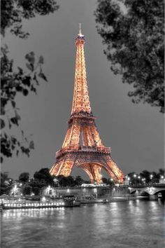 """The Tour Eiffel is truly a sign of Paris. It is the most identifiable feature of the city and, in fact, the world. Located in the arrondissement, the Eiffel Tower was a marvel of """"modern"""" engineering. Tour Eiffel, Paris Torre Eiffel, Paris Eiffel Tower, Eiffel Towers, Beautiful Paris, I Love Paris, Paris Wallpaper, Champs Elysees, Paris Travel"""