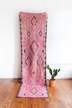 Vintage Moroccan Boujad Rug The Stella Hallway Beige Carpet, Diy Carpet, Rugs On Carpet, Carpets, Carpet Ideas, Carpet Decor, Hall Carpet, Living Room Carpet, Rugs In Living Room