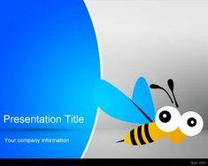 Trophies powerpoint template is a free powerpoint template with honeybee toneelgroepblik Gallery