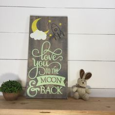 Love this sweet sign painted in mint Hand Painted Signs, Pallet Signs, Vinyl Decals, Craft Supplies, Vintage Items, Mint, Craft Ideas, Etsy Shop, Sweet