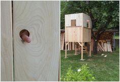DIY, Paletten, Baumhaus, Stelzenhaus, Kinder, Garten, Sommer, bauen, selbst gemacht, Schwedenhaus