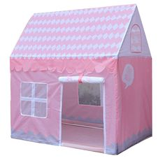 53.99$  Buy here - http://alikvn.worldwells.pw/go.php?t=32770638579 - Pink Girls Dream House Portable Kids Play Tents Outdoor Garden Folding Kid Playing Castle 100*70*100cm 53.99$