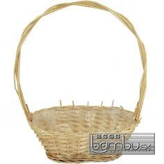 Košík prútený - Prútené koše - Bambu.sk
