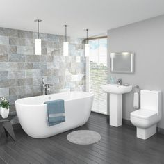 Image result for grey bathrooms
