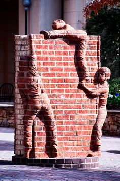 Life is an Open Book (2002), The Green, South Tryon Street, Charlotte, North Carolina ~ Brad Spencer, sculptor