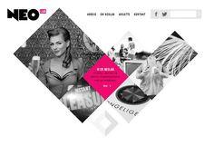 Showcase of Websites Using Diamonds