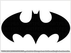 Resultado de imagem para molde morcego batman