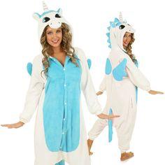 Blue Unicorn Onesie for Adults - Unicorn Onesies  - 1
