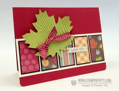Stampin up stampinup stamp it card catalog fall idea demonstrator blog hop