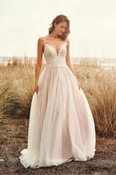 The Blushing Bride Boutique is one of the largest Retailers in Texas for Lillian West Wedding Gowns! You'll find in our Lillian West Collection an assortment of Ultra Boho Styles, Romantic … Lillian West, Wedding Dress Chiffon, Wedding Dress Trends, Lace Dress, Beige Wedding Dress, Bridal Gowns, Wedding Gowns, Honeymoon Dress, Evening Dresses For Weddings