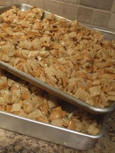 Best Corn Chex Or 12 Cups Rice Chex Recipe on Pinterest