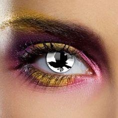 Eyefusion 1 Year Coloured Contact Lenses (Bird)