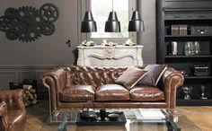 Shake My Blog   3 ambiances avec un canapé Chesterfield