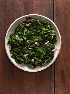 Garlicky Swiss Chard #myplate #thanksgiving #holidays #sides