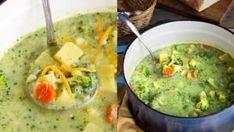 Brokolicovou polévku lze připravit jako hladký krém i v kombinaci s další zeleninou, ale je výtečná i jako klasická zeleninová polévka, ve které si můžete do ze Guacamole, Ethnic Recipes, Food, Meal, Essen, Hoods, Meals, Eten