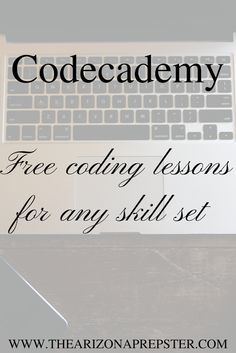 The Arizona Prepster: Codecademy