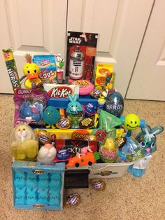 Tackle Box Alternative To An Easter Basket For The