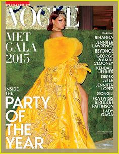 Rihanna Lands the Cover of Vogue's Met Gala 2015 Issue!