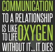 Communication is the answer to resolving everything. You should have just went for a drink, talked to me, provided closure... I wanted answers & understanding. Respect.