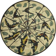 """archiemcphee:  """" We love this 19th century French phenakistoscope depicting a flying butterfly.  Follow @dickbalzer here on Tumblr to check out many more mesmerizing phenakistoscopes and zoetropes.  """" dickbalzer  Phenakistoscope Disk - France - c.1835  """"..."""