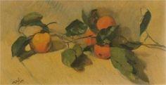 Seville oranges - Nikolaos Lytras Greek Paintings, Art Database, Seville, Still Life, Artwork, Painters, Europe, Fruit, Google Search