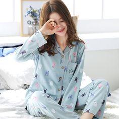 Cute Pyjama, Cute Pajama Sets, Pajama Party Outfit, Pajama Outfits, Cute Sleepwear, Sleepwear Women, Night Suit For Women, Pijamas Women, Cotton Pyjamas