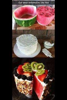 Great healthy dessert idea.