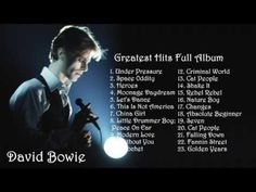 ▶ DAVID BOWIE - Greates Hits Full Album | Best songs of David Bowie - YouTube